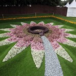 The Quilted Velvet Garden at Tatton Park 2009