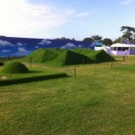 Freestyle Turfing Competition at Hampton Court Flower Show 2014